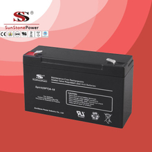SPT Series 6V10AH Sealed Maintenance Free VRLA/SLA AGM Battery for UPS