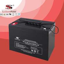 Solar Battery Deep Cycle Battery 12v 90ah AGM Lead Acid Battery