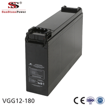 Sunstone Power 12V 180AH Front access GEL lead acid battery Telecom