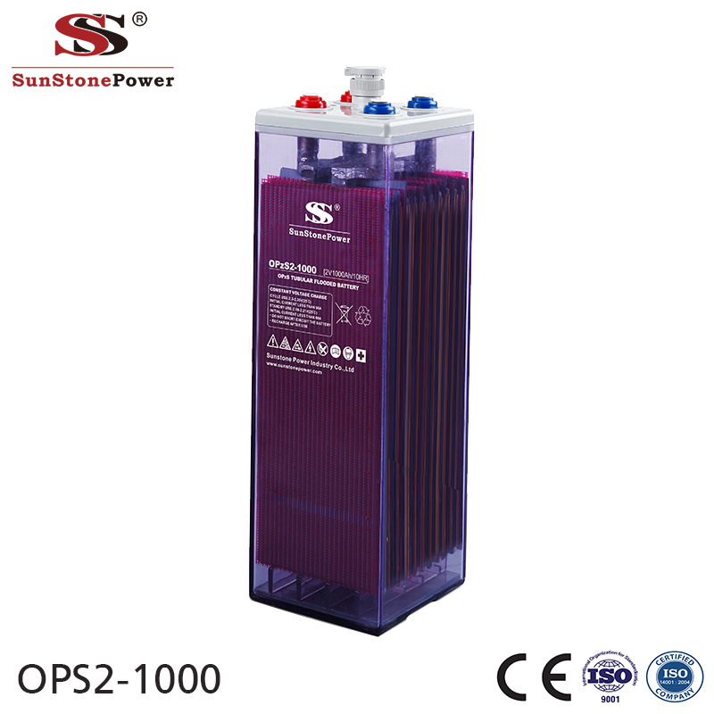 Sunstone Power OPzS 2V 1000AH Maintenance Free Solar Battery