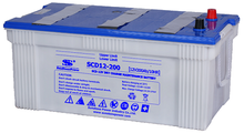 JIS Standard Dry Charged Car Battery SCD 12V 200AH