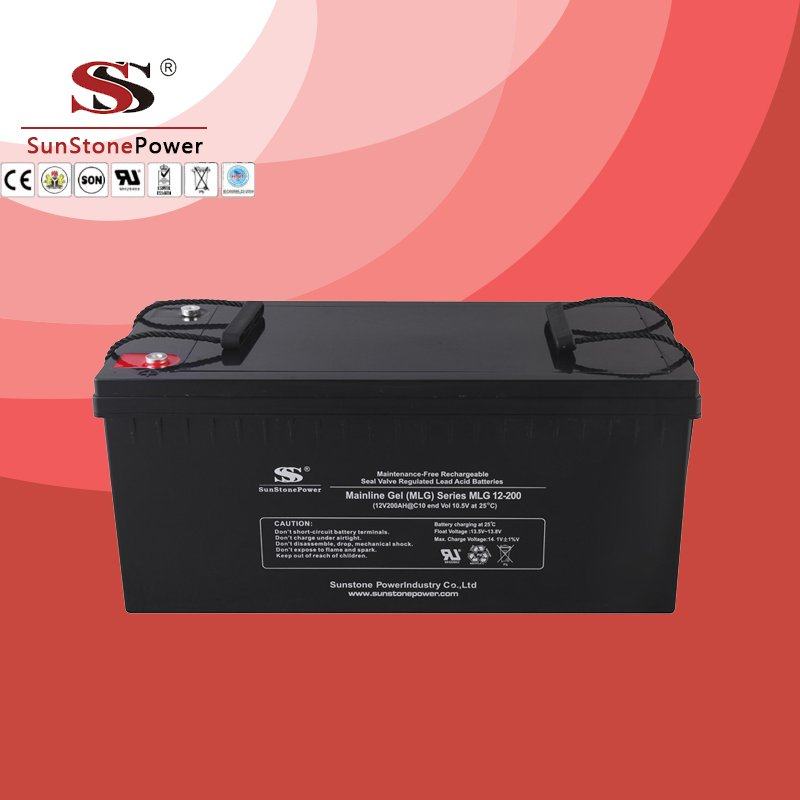 Deep Cycle 12V 200AH Gel Lead Acid Solar Battery