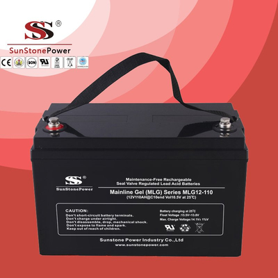 Deep Cycle 12V 110AH Gel Lead Acid Solar Battery