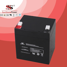 SPT Series 12V5AH Sealed Maintenance Free VRLA/SLA AGM Battery for UPS