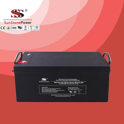 Deep Cycle 12V 240AH Gel Lead Acid Solar Battery