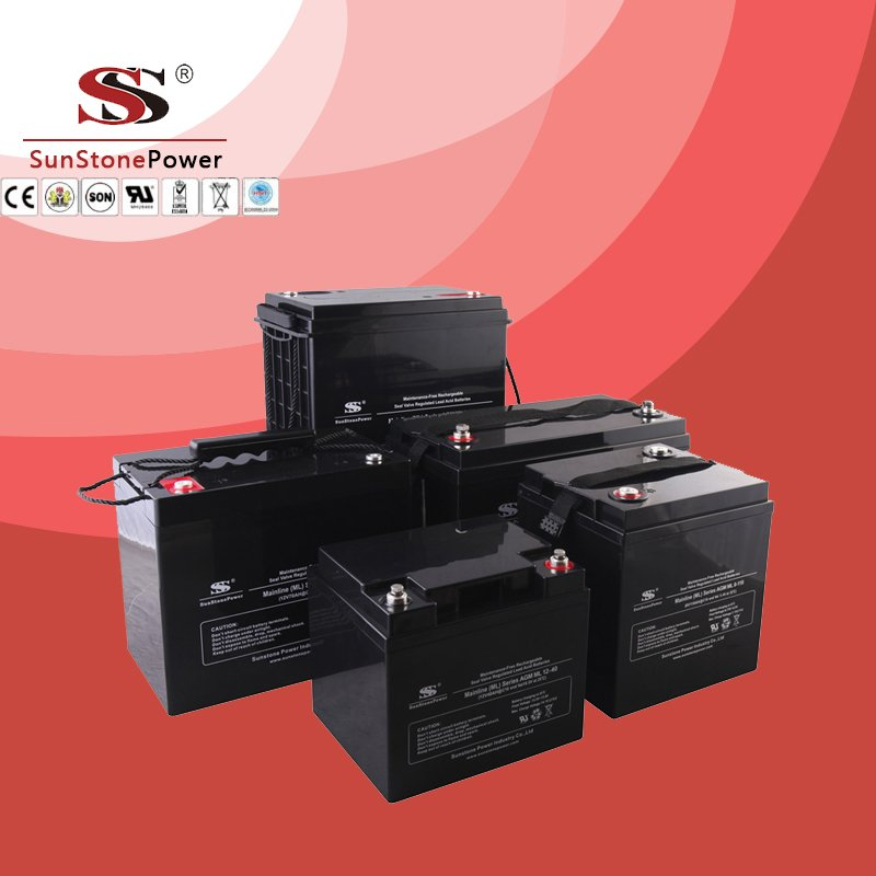 Solar Battery Deep Cycle Battery 12v 44ah AGM Lead Acid Battery