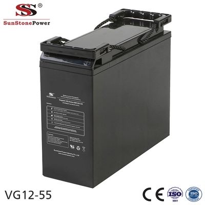 Sunstone Power 12V 55AH Lead acid battery Telecommunication battery