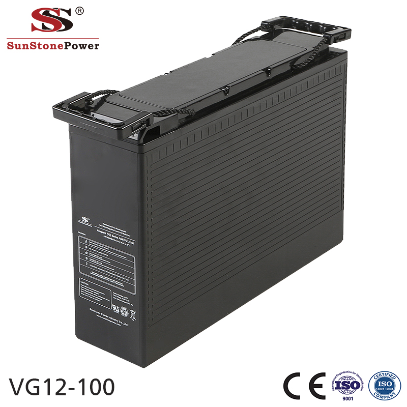 Sunstone Power 12V 100AH Deep cycle Rechargeable Lead acid battery
